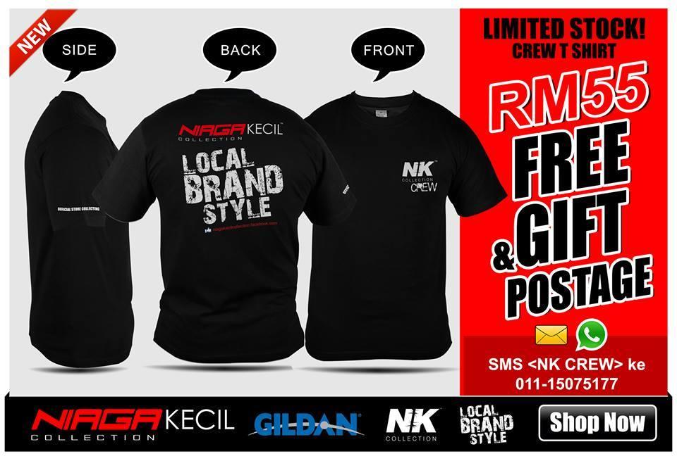 T-shirt Edisi NKC